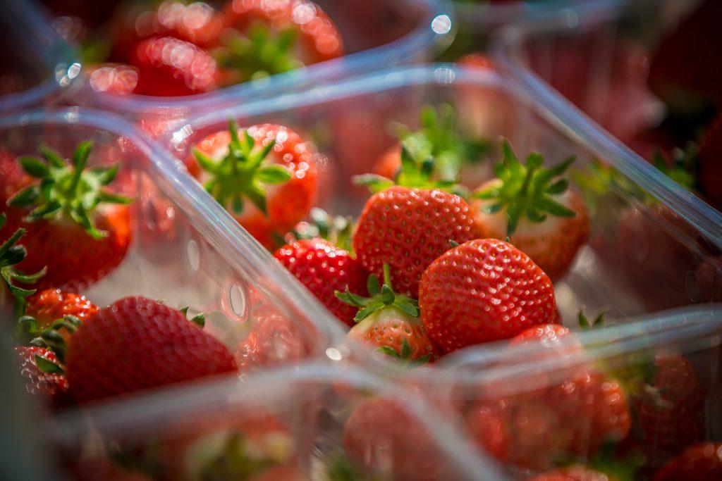punet of strawberries