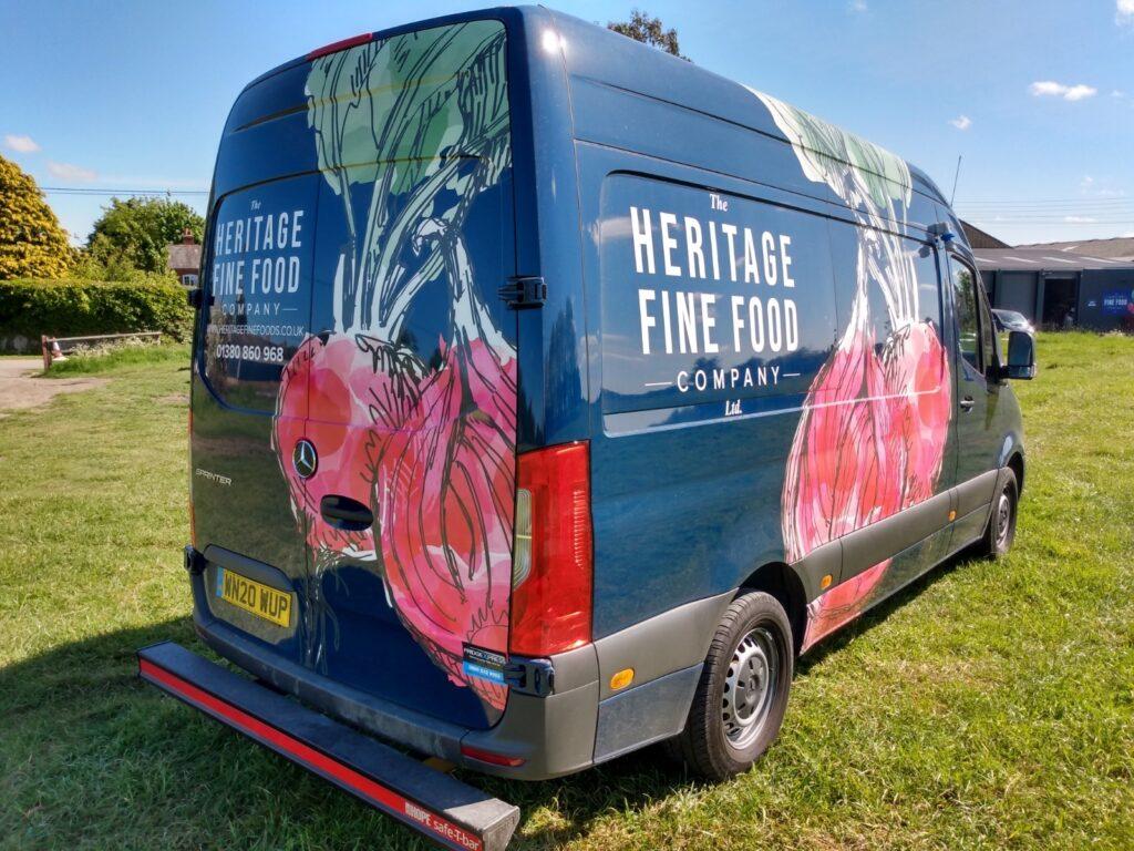 Wholesale Heritage Delivery van