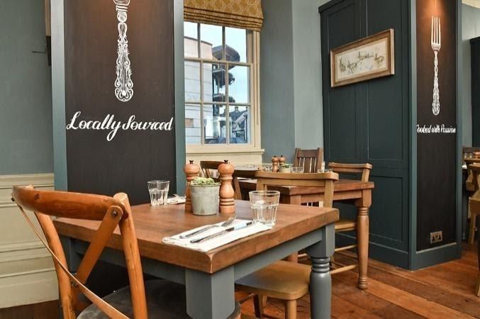 Table inside the restaurant