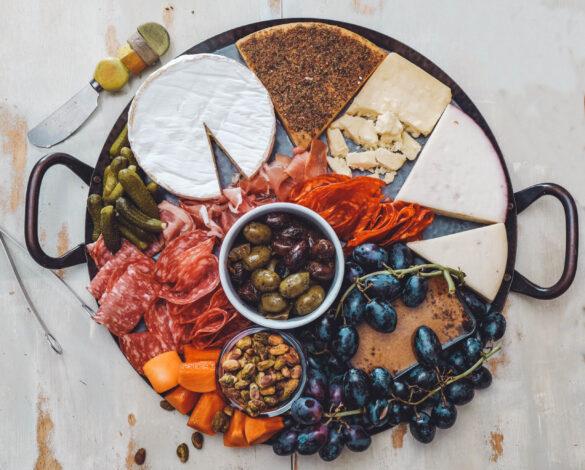 Photo credit: erik-dungan-unsplash Cheese platter