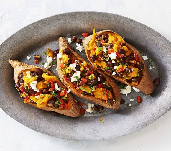Loaded sweet potatoes - image source Good house keeping