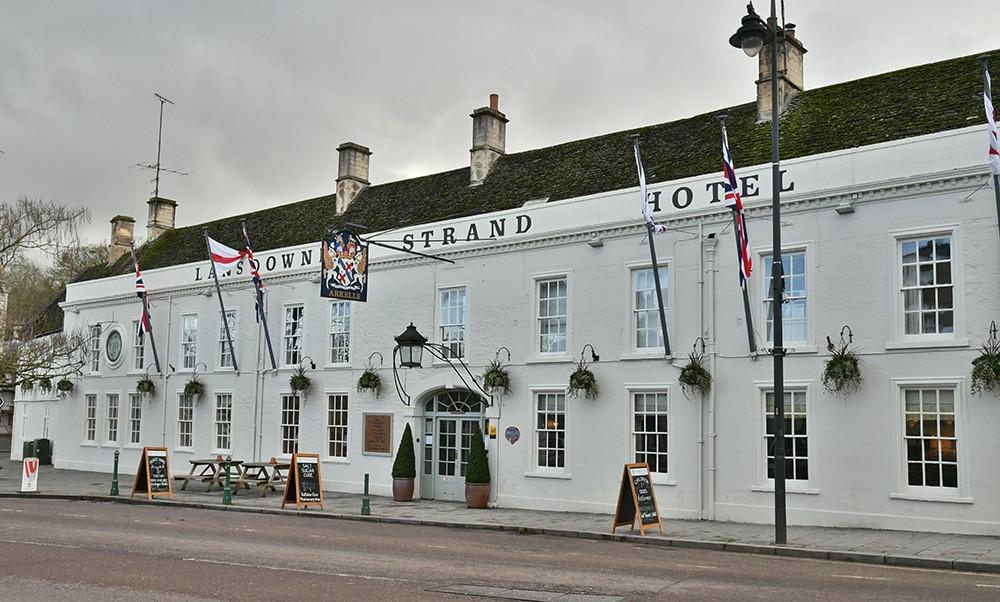 Lansdown Strand Hotel outside