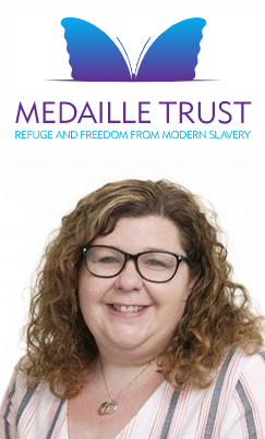 Leanne Hubbard Director of Fundraising and engagement at The Medaille Trust