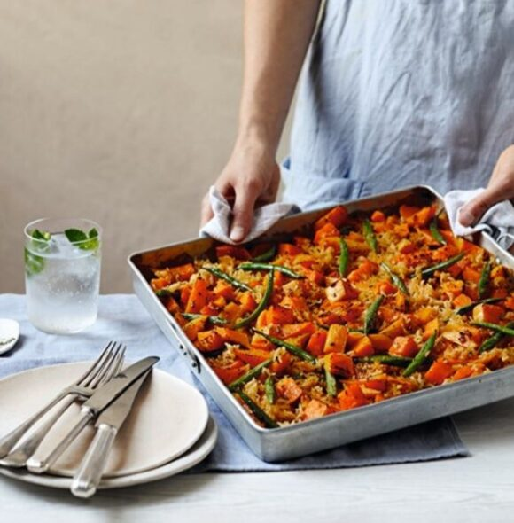 vegan-coconut-and-squash-tray-bake-five-ingredient-vegan-katy-beskow-1