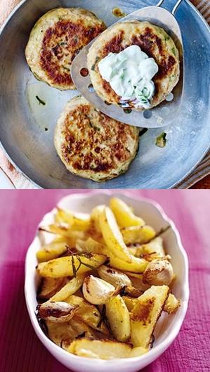 fishcakes wedges