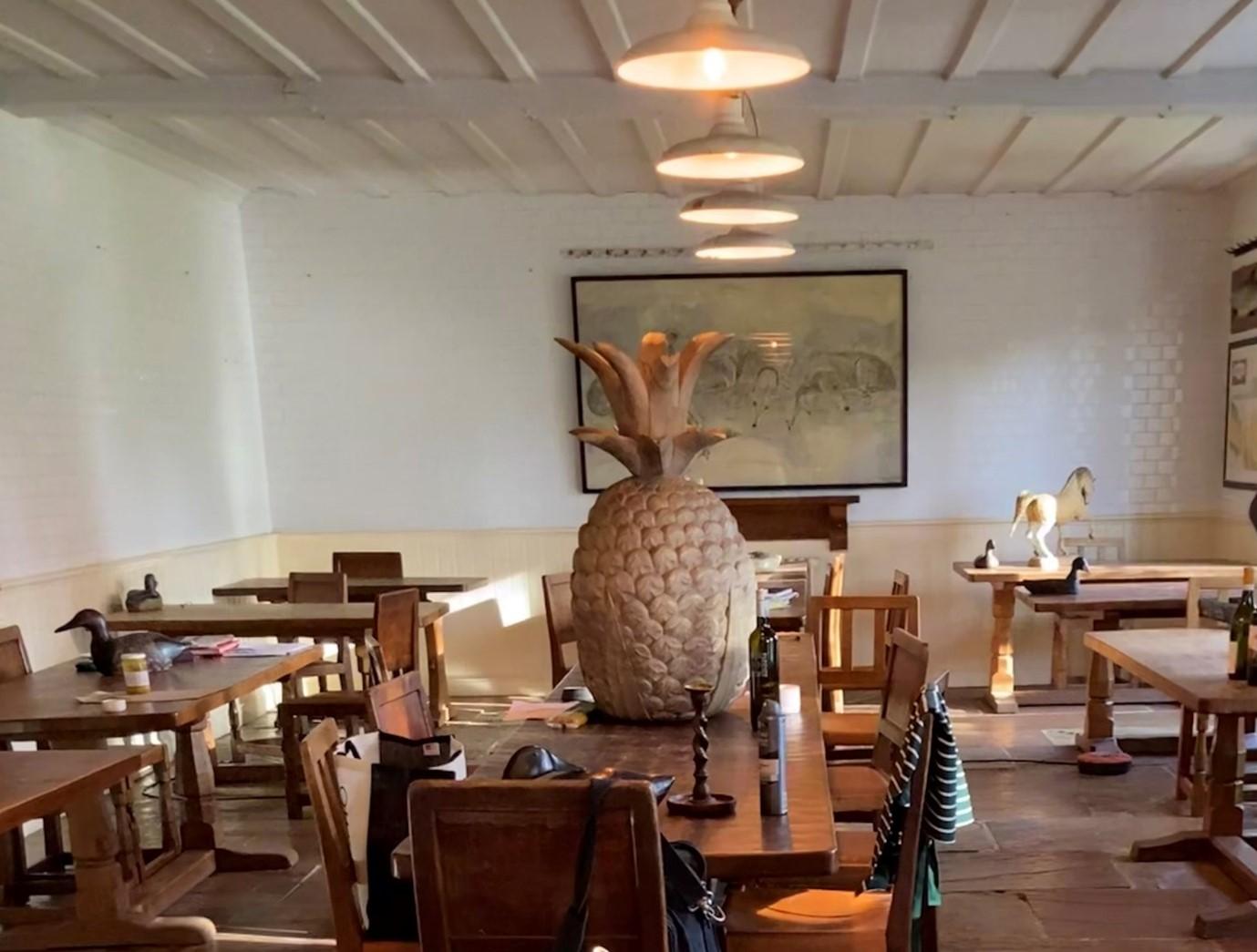 The Rudloe Arm restaurant