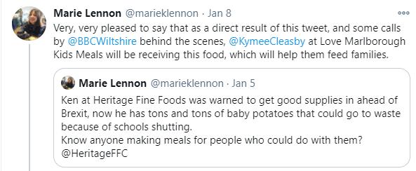 Marie Lennon tweet