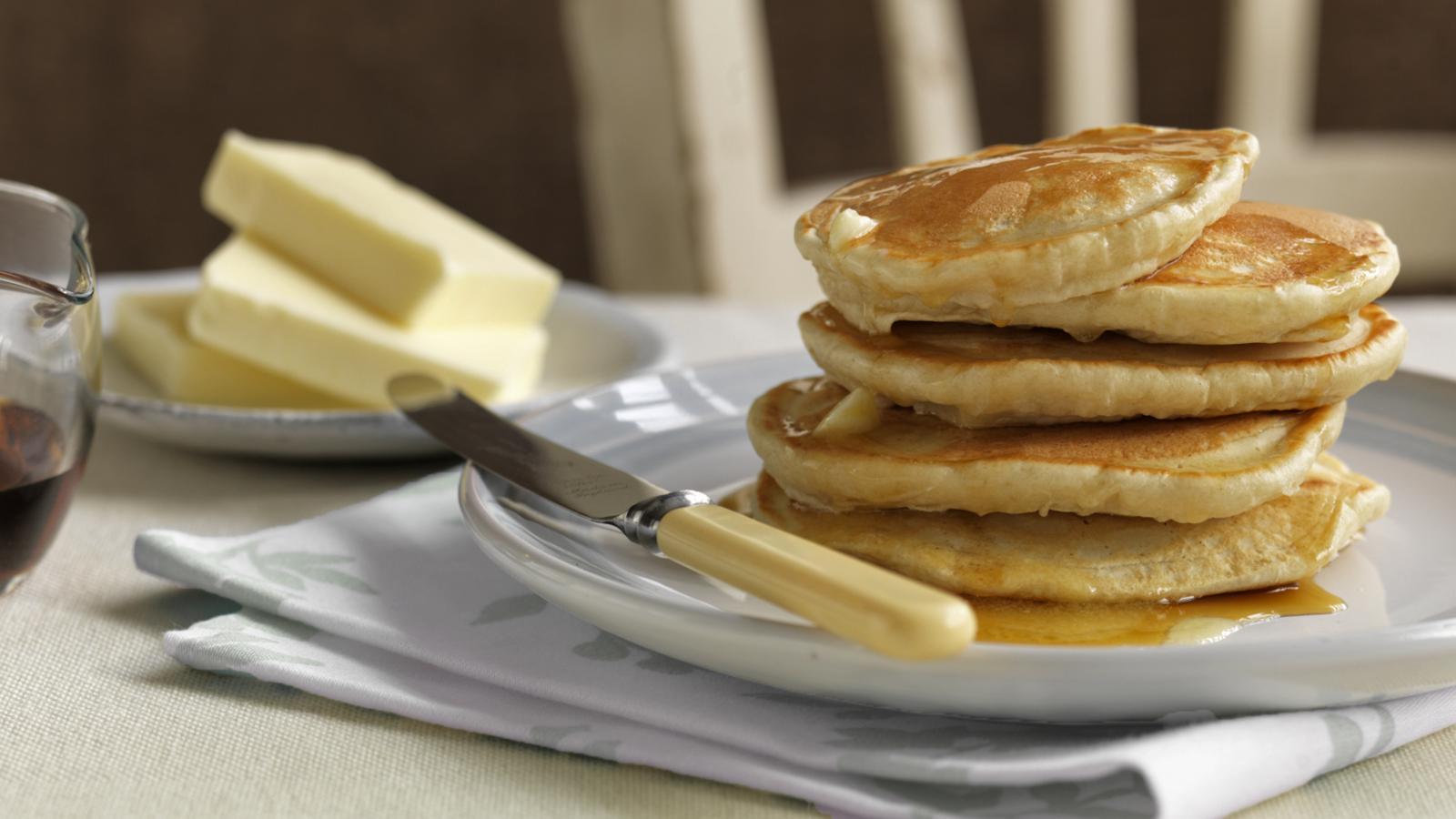 fluffy american pancake