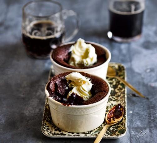 chocolate-stout-puddings