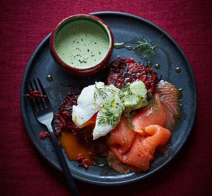 Beetroot-rosti-with-green-yogurt-and-salmon