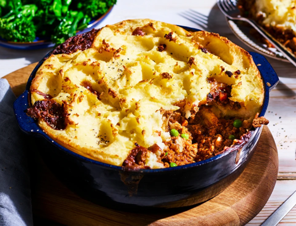 Veggie cottage pie