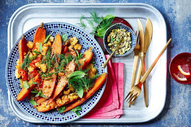 syrian roast carrots