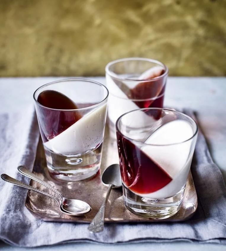 Gin panna cotta