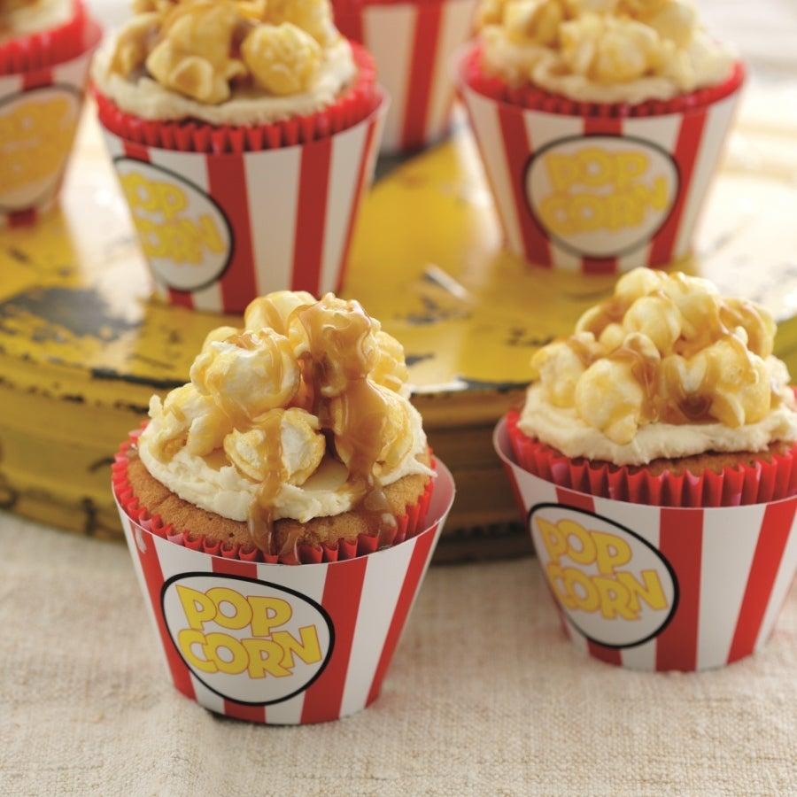 Popcorn-Cupcakes