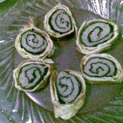 egg and chicken sushi