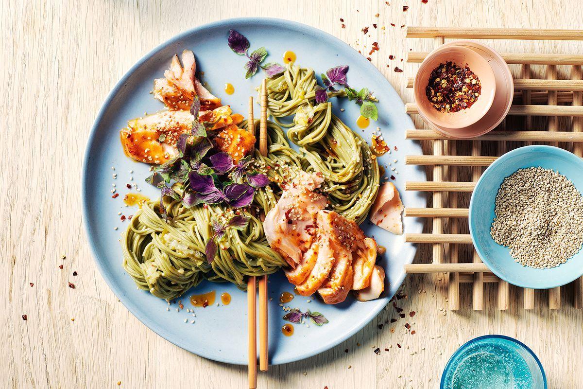 green-tea-noodles