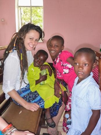 Emily in Uganda