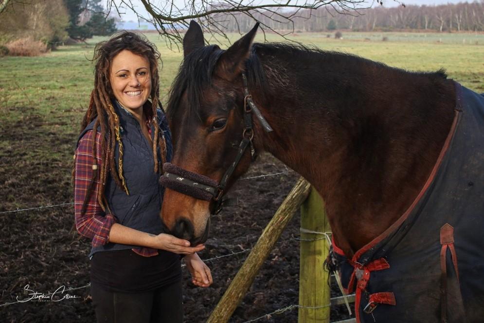 Emily loved horses