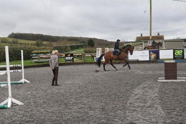 Lucinda Fredericks training