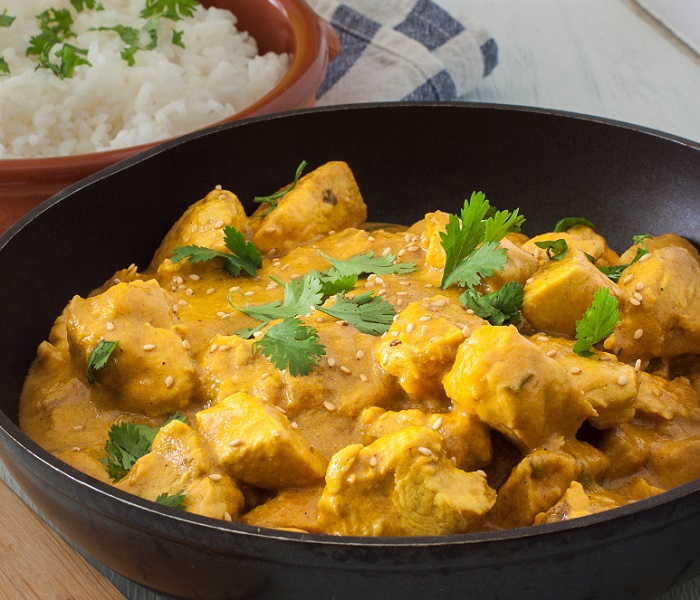 chicken and mooli curry