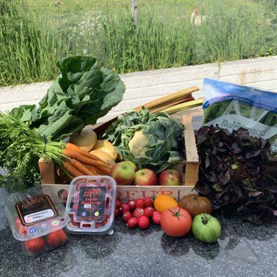 SW fruit and veg box