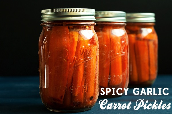 Spicy-Garlic-Carrot-Pickles