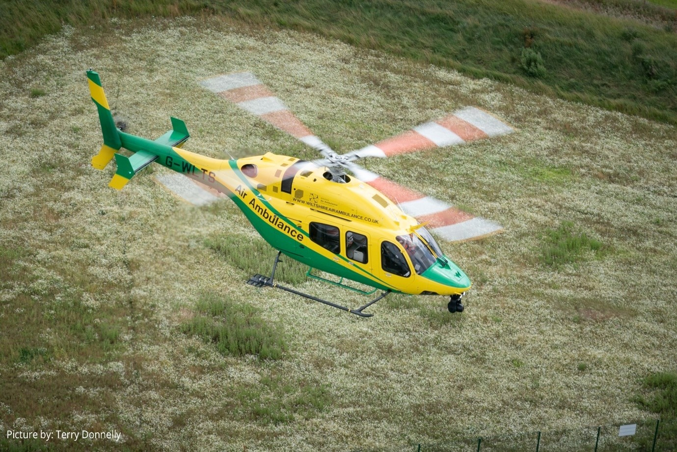 WAA air ambulance photo by Terry Donnelly