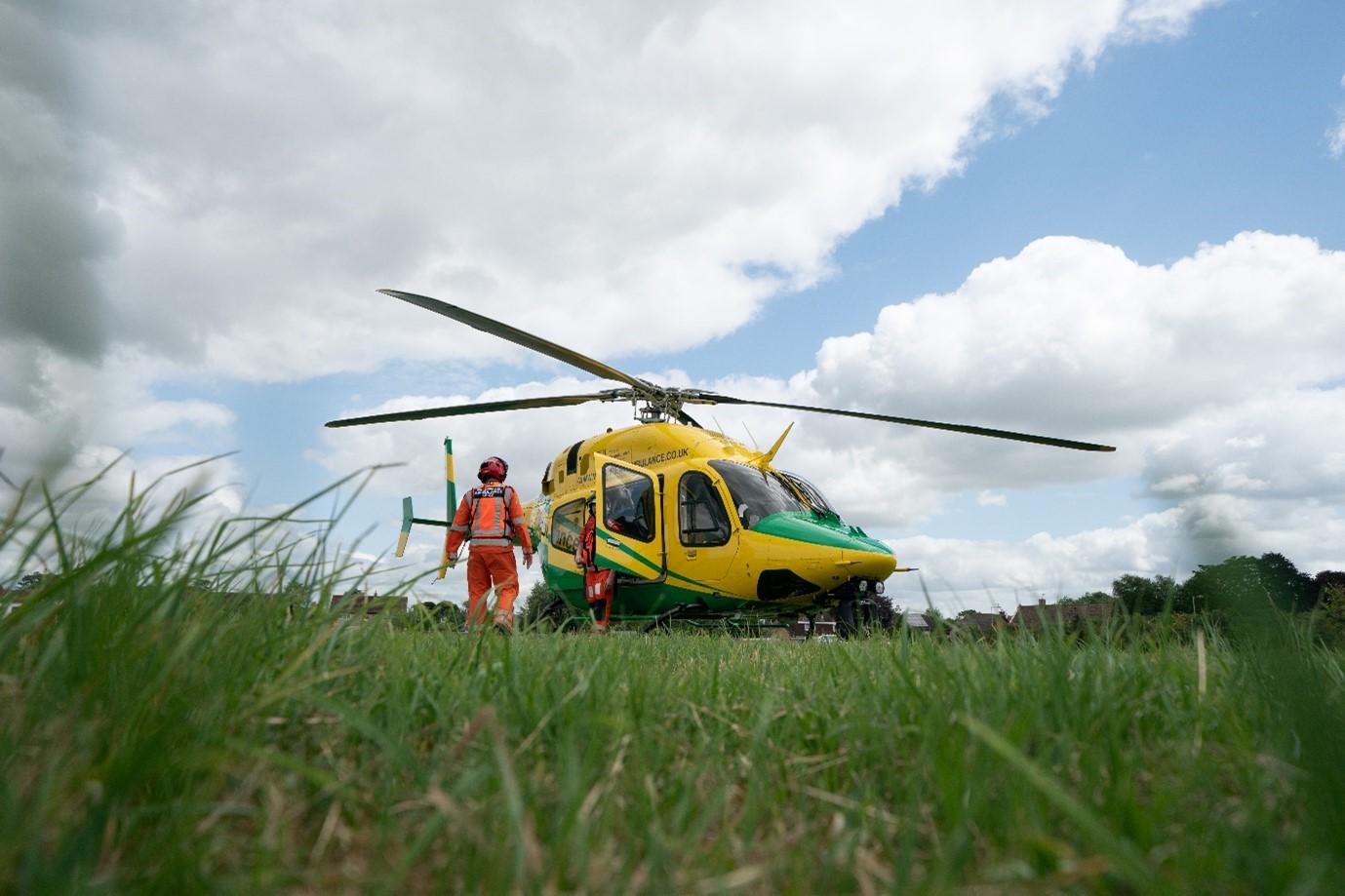 WAA air ambulance