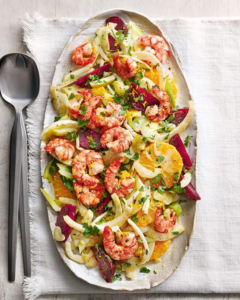 fennel-and-prawn-salad