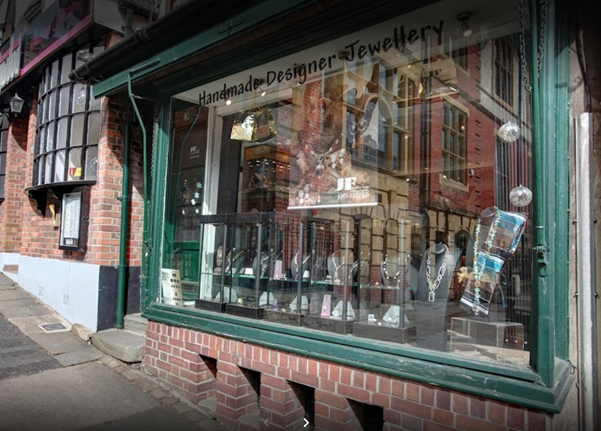 Jewelley shop front
