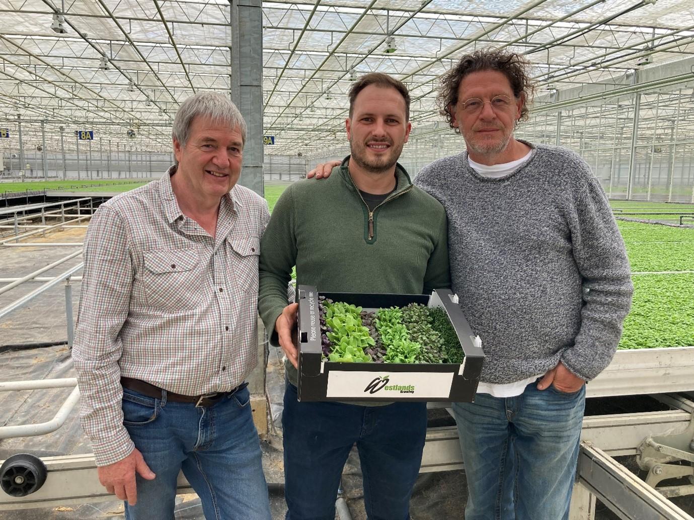 Ken Mortimer, Heritage Fine Foods, William Boers, Westlands and Marco Pierre White