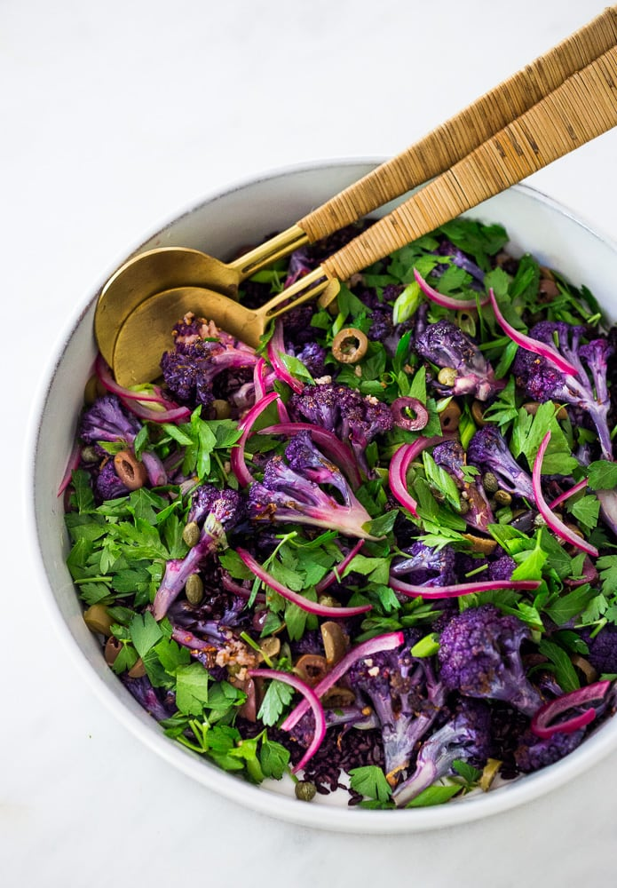 Purple-Cauliflower-Salad