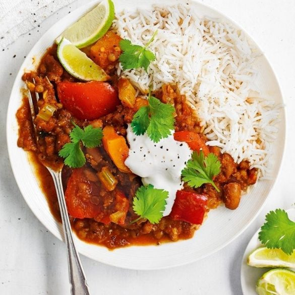 chilli-with-rice