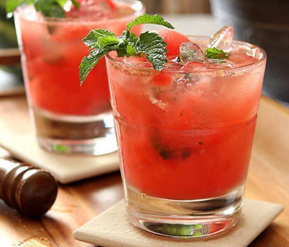 watermelon-mint-mojito