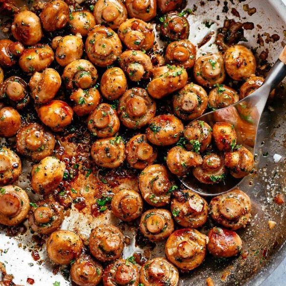 Garlic-Butter-Mushrooms