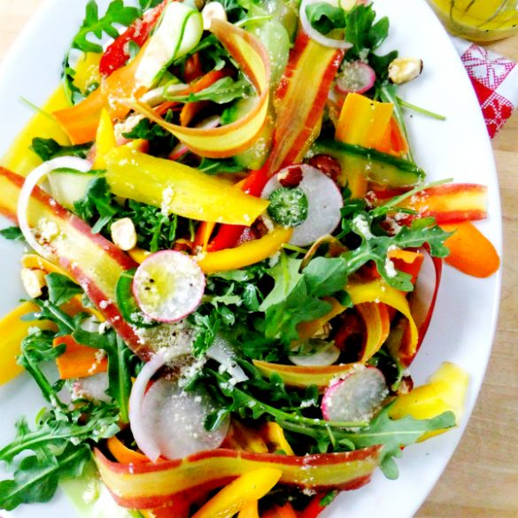 carrot summer salad