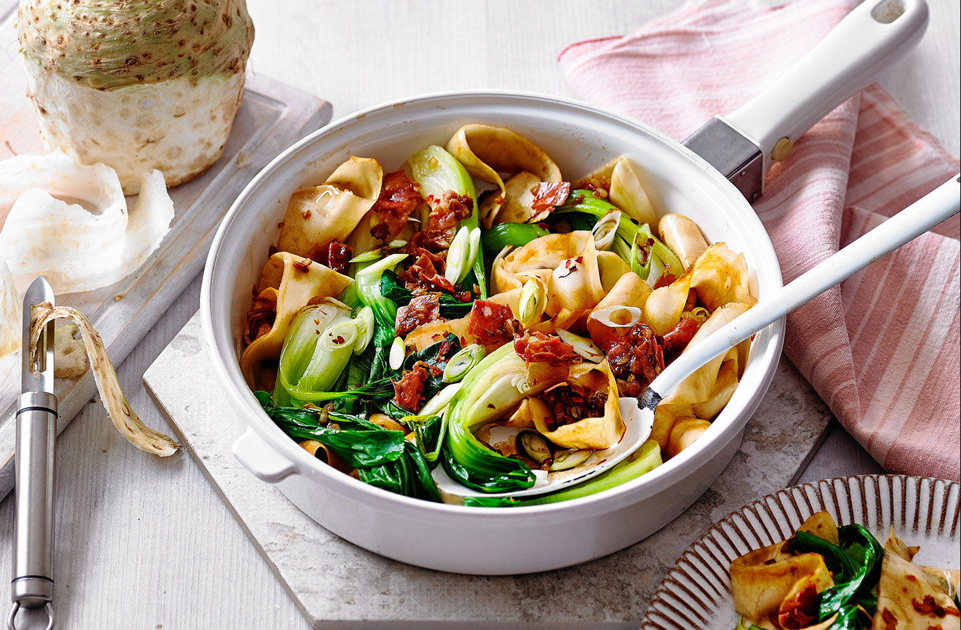 Celeriac-noodles
