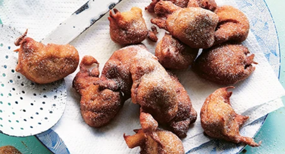 Banana and rum fritters