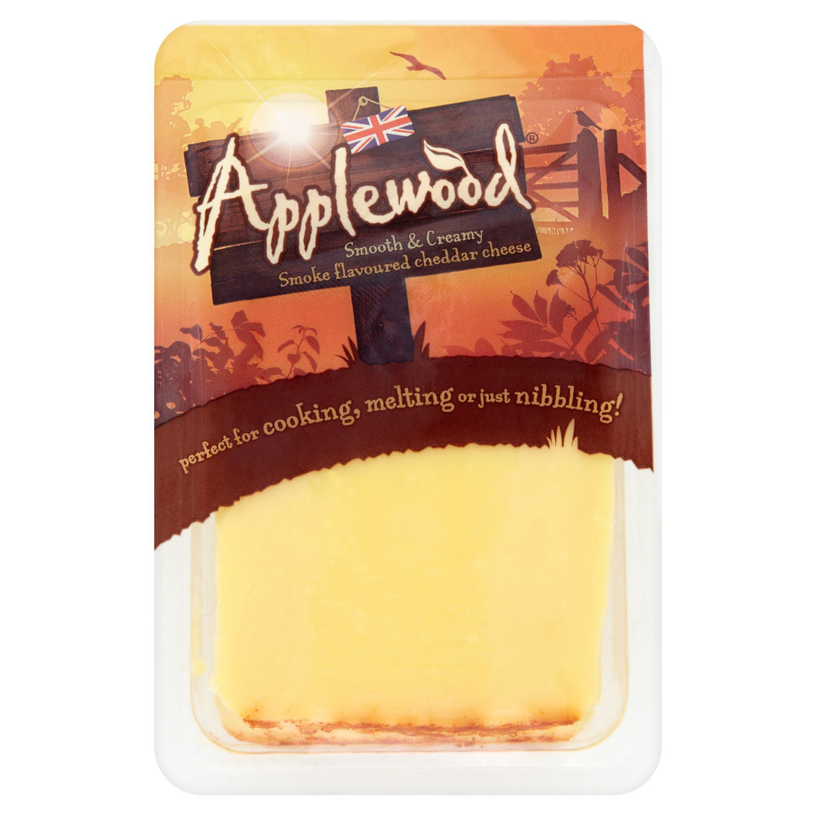 Applewood smoked cheese