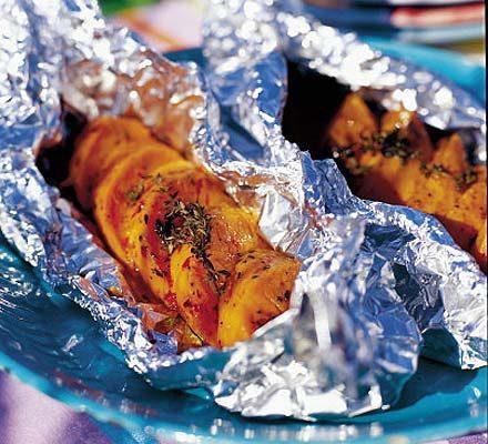 hot spicy sweet potato